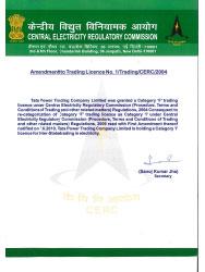 Tata Power Trading License